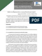 COMPETENCIAS BÁSICAS. UN NUEVO PERFIL EDUCATIVO PARA EL SIGLO XXI
