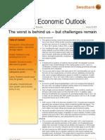 Swedbank Economic Outlook, January 16, 2013