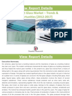 Indian Flat Glass Market