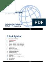 IT audit - IT environment