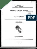 Hydraulic Gate Seals