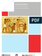 Male circumcision Global trends and determinants of prevalence, safety and acceptability