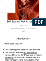 soil errosion