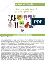 Indian Footwear Market_Trends & Opportunities (2012-2017)