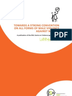 Towards a StStrong Convention on all Forms of Male Violence against Women