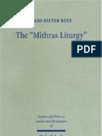 """The  """"Mithras Liturgy"""""""