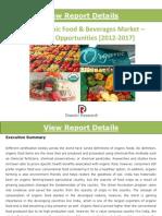 Indian Organic Food & Beverages Market_Trends & Opportunities (2012-2017)