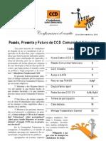 Informe de CCD Comunidad Valenciana para la Asamblea Nacional de CCD