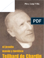 El jesuita masón y hereje Teilhard de Chardin