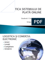 Logistica sistemului de plata online