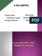 NVP (Net Present Value)