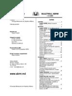 Buletinul ABRM Nr 2009-1