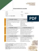 2º Congreso Nacional de Enfermería. Plasencia 17,18 y 19 de Abril Inscripción a Seminarios y Talleres pdf