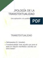Ejemplos de transtextualdiad