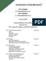 Unit01 Fluid Mechanics Basics