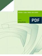 CUDA VideoDecoder Library