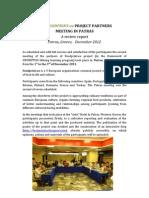 Report on Patras Meeting of FOODPRINT.eu