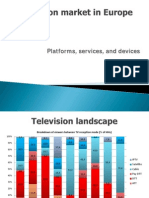 Television Market in Europe