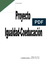 proyecto Igualdad Coeducación