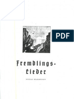 Belozwetoff Fremdlings Lieder.