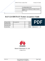 HSUPA IC Feature Acceptance Guide