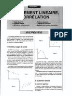 Ch7 Ajustement Lineaire Et Correlation