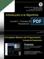 Introd. a la Algoritmia - Tema 2