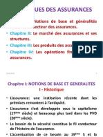 Techniques Des Assurances. (Cours s5)