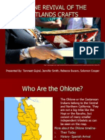 OHLONE REVIVAL OF THE WETLANDS CRAFTS
