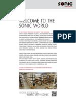 Catalogo SONIC 2012