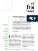 Cambios en la exigencia de Licencias Ambientales en colombia