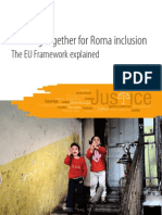 Working together for Roma Inclusion