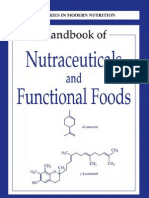 Handbook of Nutraceuticals and Functional Foods