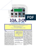 10A 0-30A PSU SCHEMATIC AND INFRORMATIONS DIY