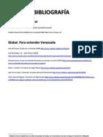 Bibliografía Venezuela