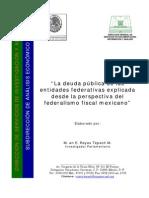 Estudio de los estados más endeudados de México