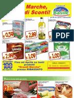 Offerte Essebi Basile Dal 7 Al 20 Gennaio 2013