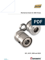 Mechanical Seals for ABS Pumps En