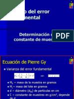Cálculo de Error Fundamental