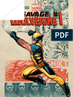 Savage Wolverine Exclusive Preview