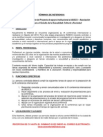 Contratación de Asistente de Proyecto de apoyo institucional a IASSCS – Asociación Internacional para el Estudio de la Sexualidad, Cultural y Sociedad