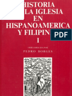 Historia de la iglesua en Hispanoamerica y Filipinas Tomo 1
