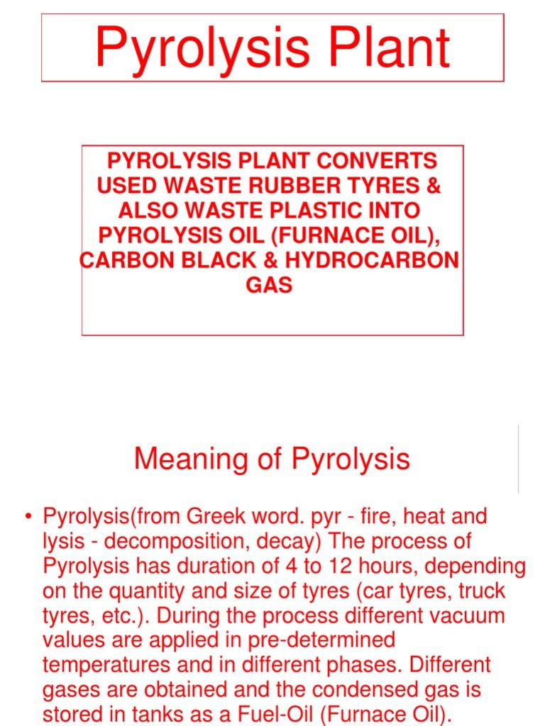 pyrolysis | Pyrolysis | Natural Gas