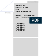 MANUAL - QUEMADORES MIXTOS DE GAS