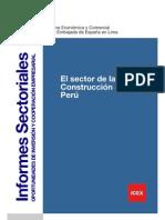 El sector de la construccion en Peru