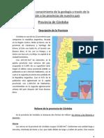 Geología de la Provincia de Córdoba