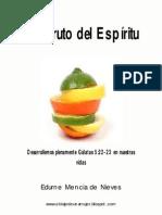 EL FRUTO DEL ESPIRITU
