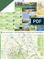Radwege-Karte Eifel 2013 (Übersicht)