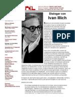 Dialogar con Ivan Illich