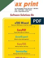 Tax Print Brochure